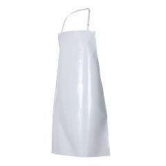 Delantal Pvc Blanco 0,70x1,10. Importados