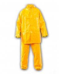 Traje Amarillo Pijama Pantalon Elastizado Con Tira Reflectiva