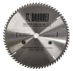 Sierra Circular Broquel 12pulg 72t 25,4mm Max 4500rpm