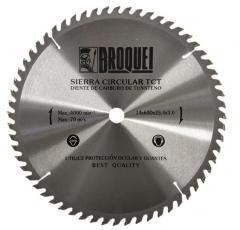 Sierra Circular Broquel 14pulg 60t 25,4mm Max 4000rpm