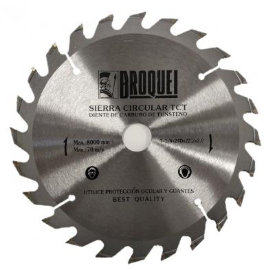 Sierra Circular Broquel 7-1/4 24t 22mm Max 8000rpm