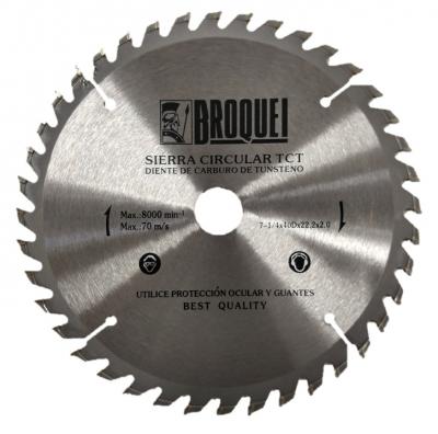 Sierra Circular Broquel 7-1/4 40t 22mm Max 8000rpm