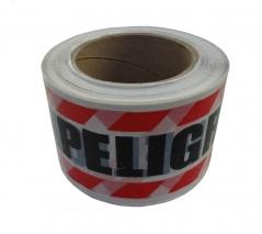 Rollo Cinta Peligro X100mts.