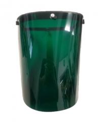 Protector Facial Alta Temp Verde P/casco260x320x2,5mm