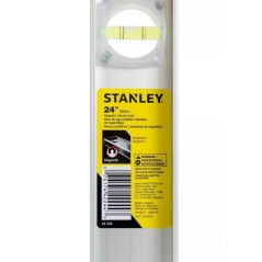 Nivel Regla Profesional  60cm Banda Magnetica Stanley 42-244