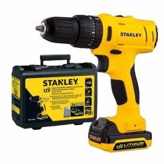 Taladro Atornillador Percutor 10mm 12v Stanley Sch12s2k-ar