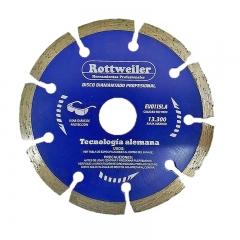 Disco De Widia Rottweiler 115 Mm Segmentado