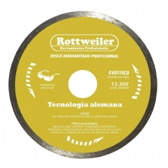 Disco De Widia Continuo Rottweiler 115mm