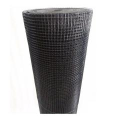 Rollo Malla Soldada Forrado En Pvc Negro De 13 X 13 (0.91 Mm) 1mt X 20mt