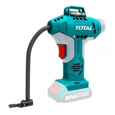 Compresor Inalambrico 20v 150psi Total Tacli2001, No Incluye Bateria Y Un Cargador.