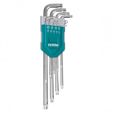 Juego De Llaves Torx T10-t50 Industrial X9u Cr-v Total Tht106392