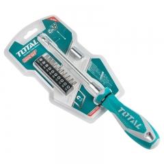 Destornillador Flexible 12 Puntas Total Tht250fl1206