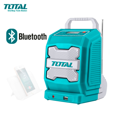 Radio Bluetooth 20v Total Tjrli2001