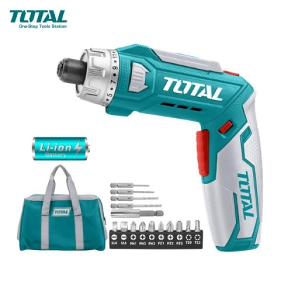 Atornillador Inalambrico 8v Industrial Total Tsdli0801