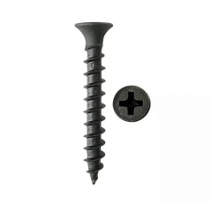 Tornillo Drywall Metal Negro   6 X 1  X200u