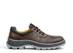 Zapato Cuero Flor Marron Voran Teucron