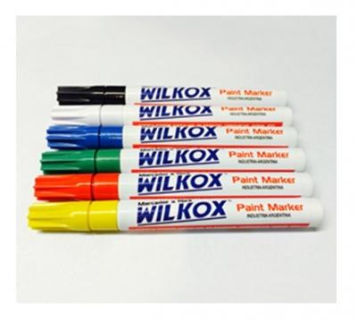 Marcador Fibra Paint Marker Azul